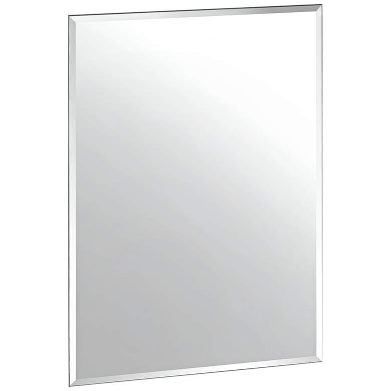"Cameo 23 1/2"" x 31 1/2"" Frameless Flush Mount Mirror"