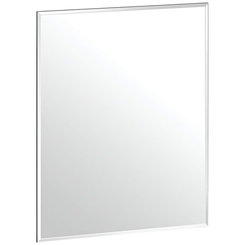 "Gatco Cameo 19 1/2"" x 24"" Frameless Flush Mount Wall Mirror"