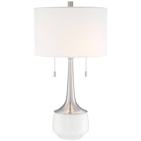 Wendy Modern Ceramic  2-Light Table Lamp