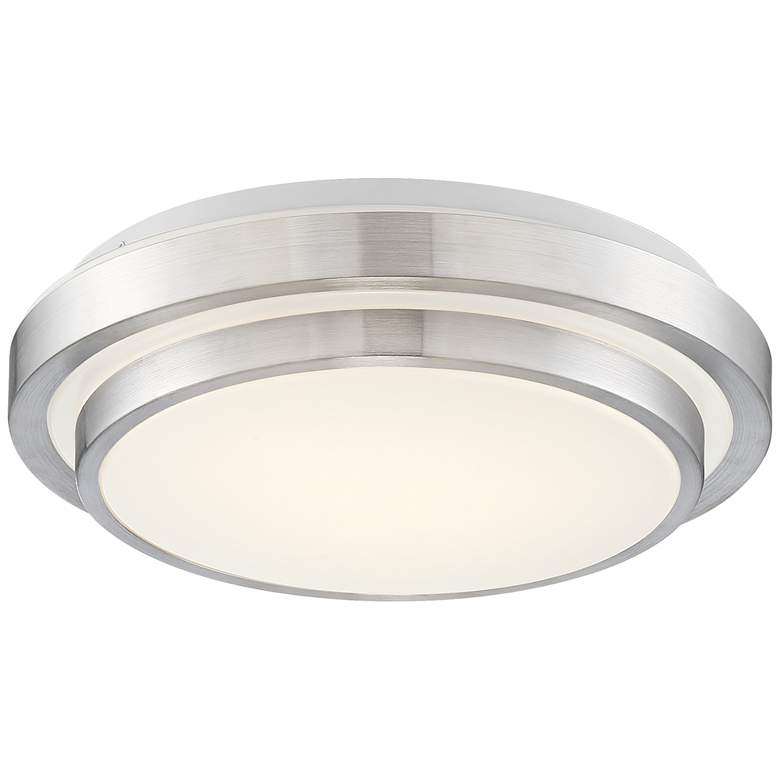 "Averson 13 1/2"" Wide Double-Tier LED Ceiling Light"