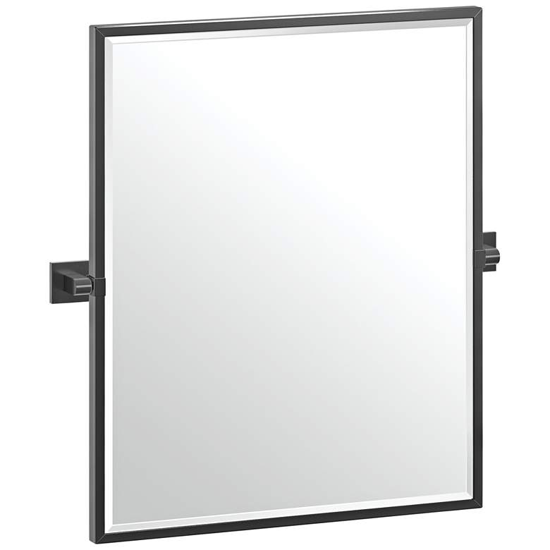 "Elevate Black 23 3/4"" x 25"" Framed Rectangular"