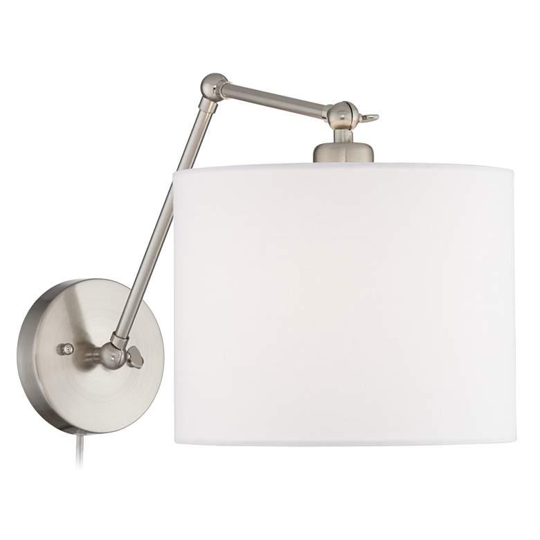 Barnes Brushed Nickel Down-Light Wall Lamp