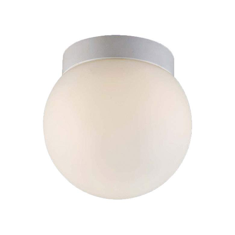 "dweLED Niveous 6"" Wide White LED Ceiling Light"