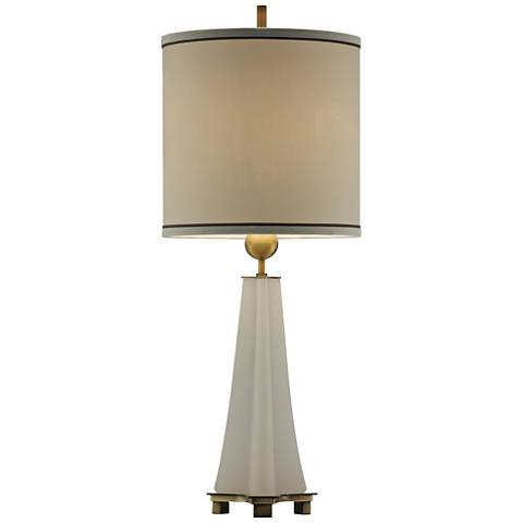 Crestview Collection Tribeca Alabaster Table Lamp