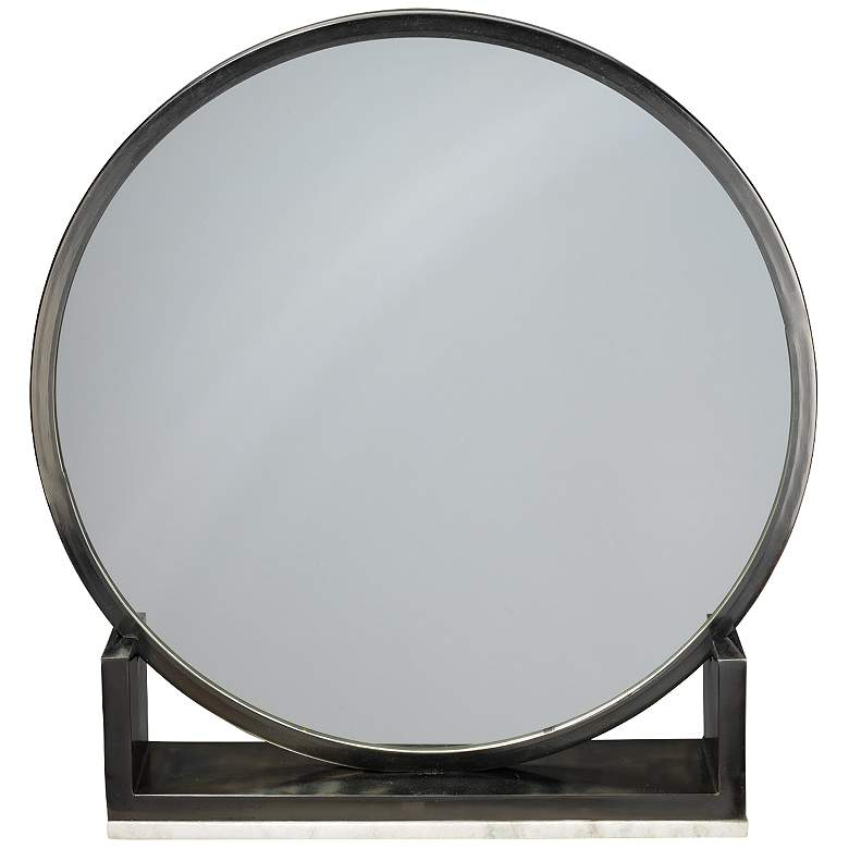 Jamie Young Odyssey Antique Iron Standing Mirror