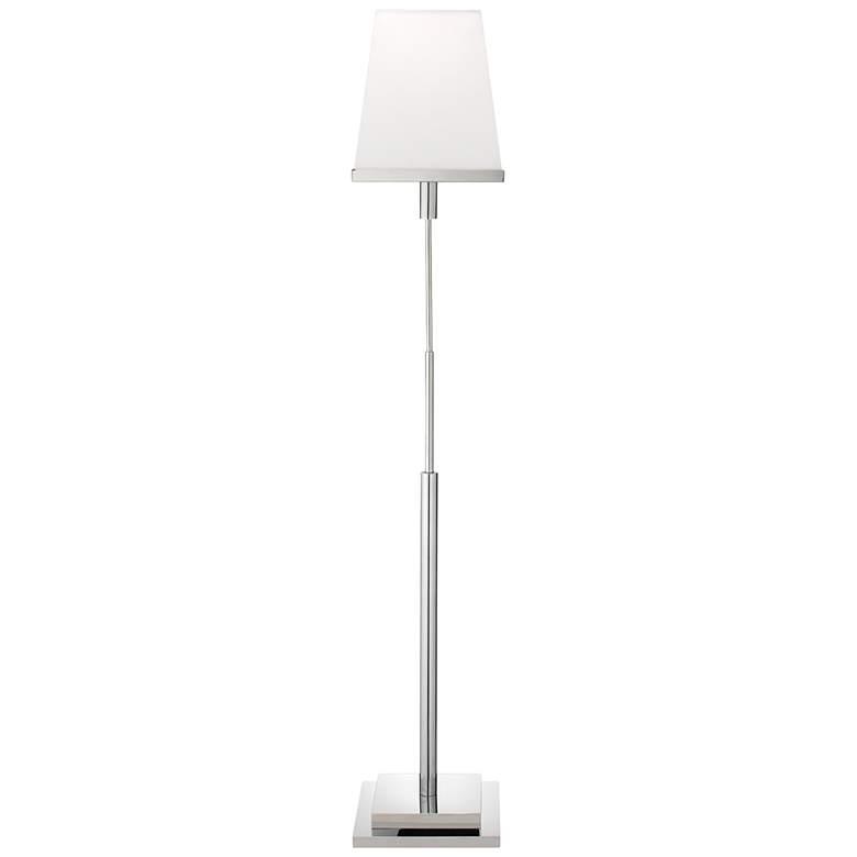 Jamie Young Jud Nickel Metal Floor Lamp