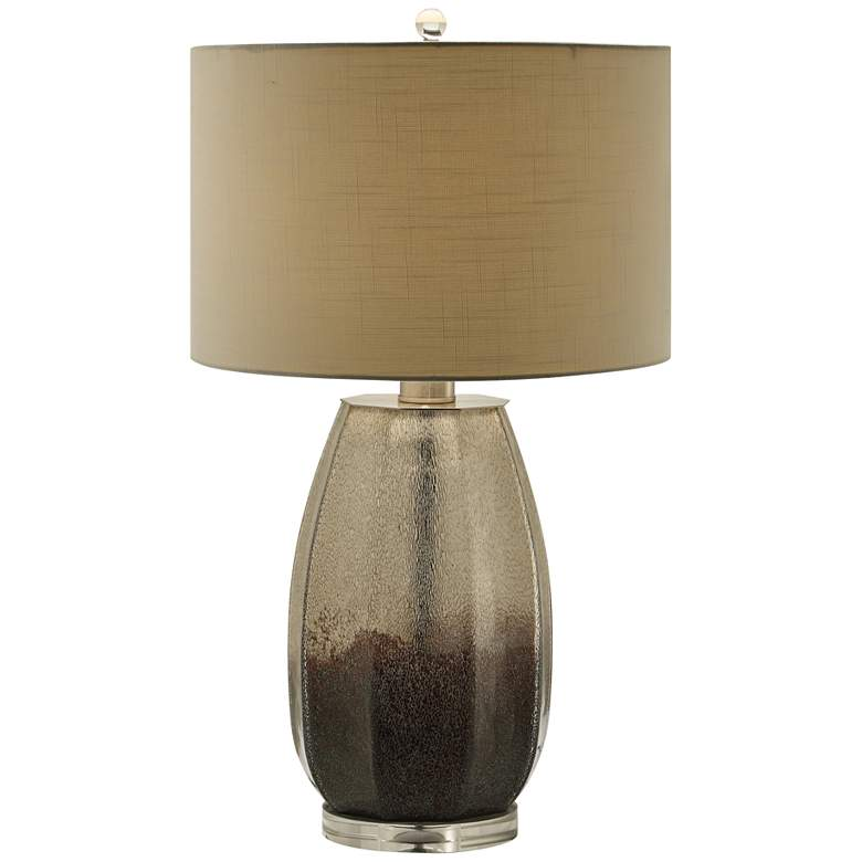Crestview Collection Kenshin Smoked Glass Table Lamp