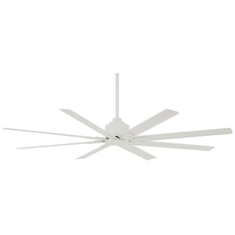 "65"" Minka Aire Xtreme H2O Flat White Wet Ceiling Fan"