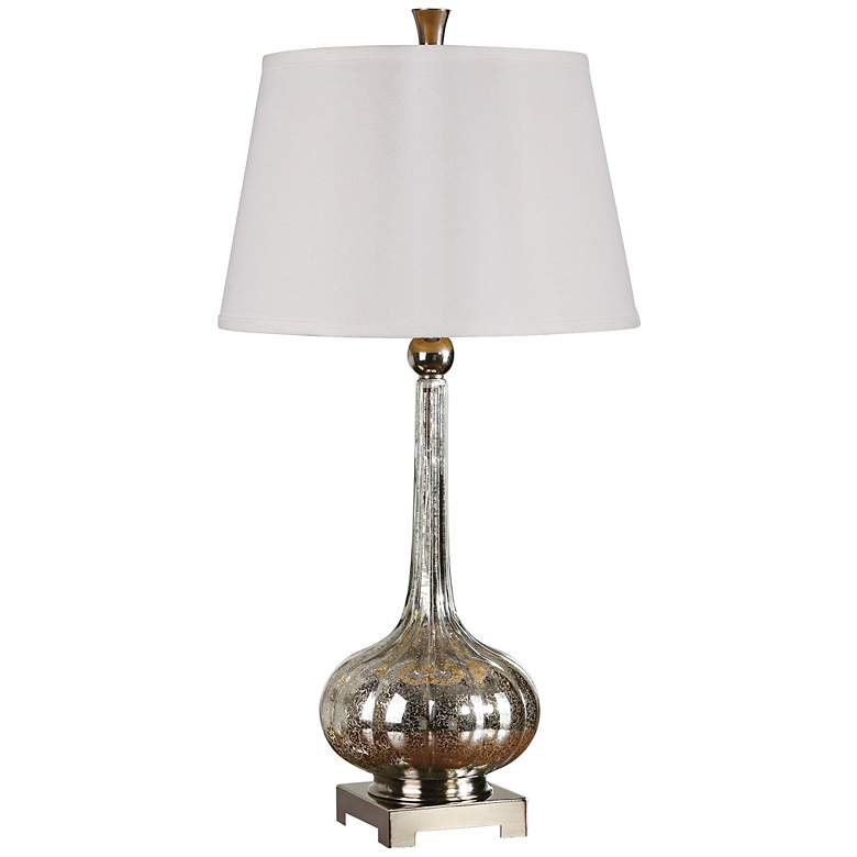 Uttermost Oristano Fluted Mercury Glass Table Lamp