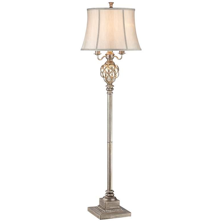 Olde 4-Light Floor Lamp with LED Night Light