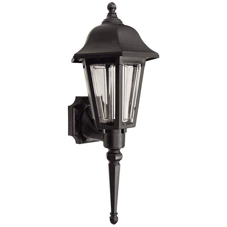 "Brentwood 21 1/2"" High Black Outdoor Wall Light"