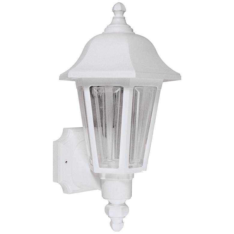 """Brentwood 21 1/2"""" High White Outdoor Wall Light"""