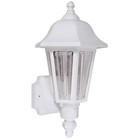 "Brentwood 21 1/2"" High White Outdoor Wall Light"