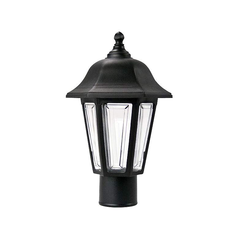Brentwood Black Outdoor Post Mount Light