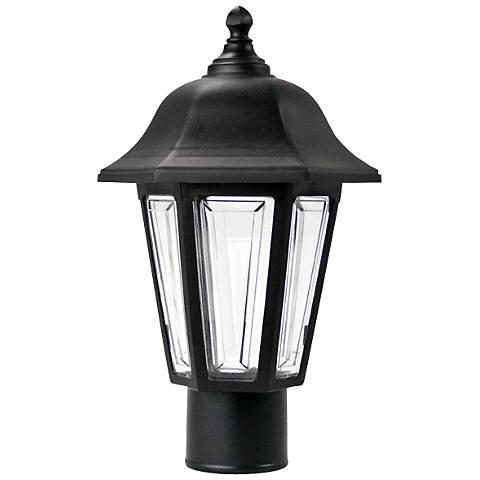 Brentwood Black Outdoor Post Mount Light