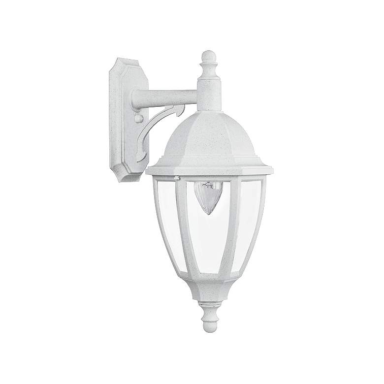 "Everstone 23 1/4"" High 150W White Outdoor Wall Lantern"