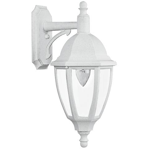 "Everstone 23 1/4"" High 150W White Outdoor Wall Lantern"