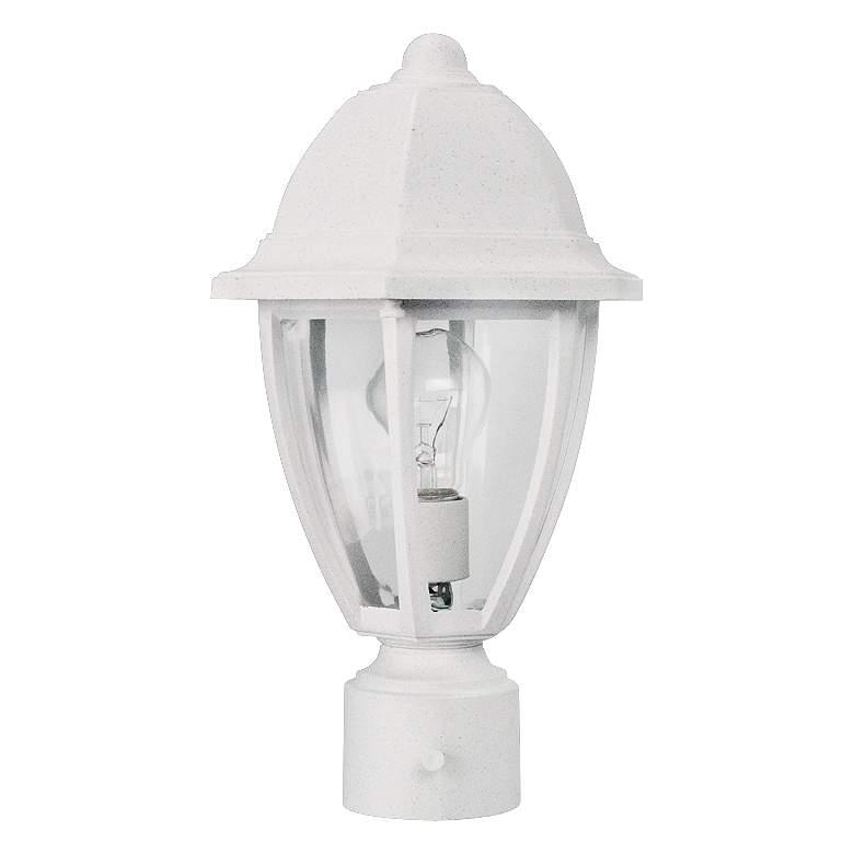 "Everstone 14 3/4"" High White Outdoor Post Lantern"