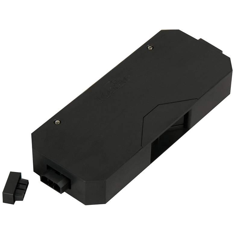 """MXInterLink4 5""""W Black Under Cabinet Light Direct Wire Box"""