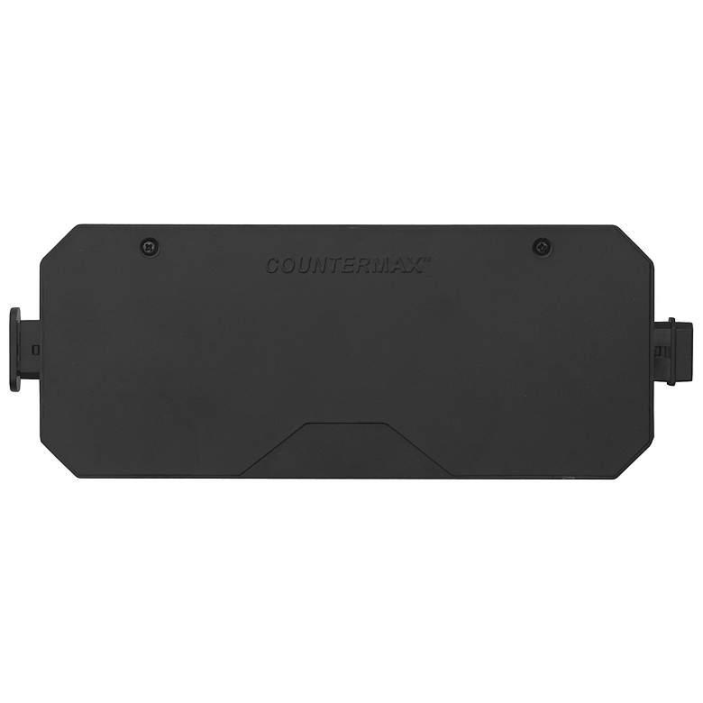 """MXInterLink5 6.5""""W Black Under Cabinet Light Direct Wire Box"""