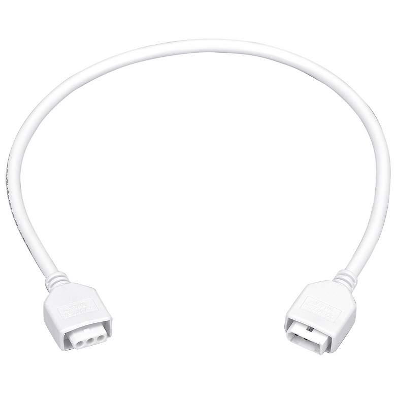 """MXInterLink5 White 18"""" Under Cabinet Light Connector Cord"""