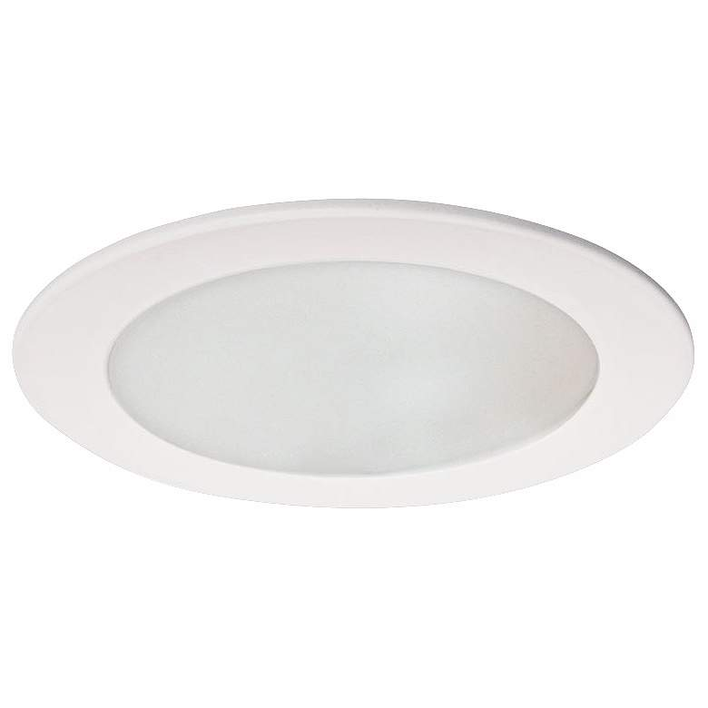 """Intense Lighting 4"""" CFL White Recessed Lighting Trim"""
