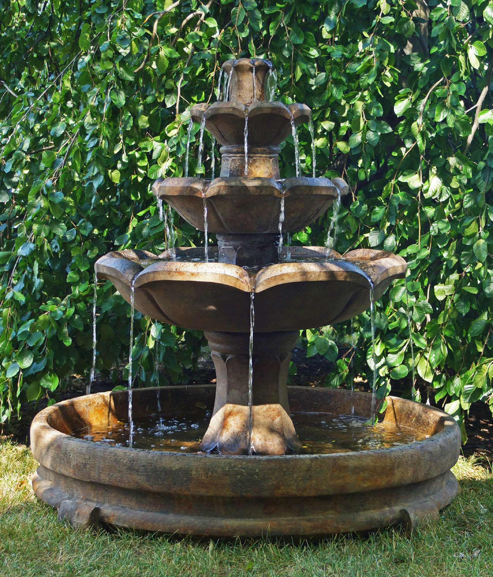 Asian outdoor water fountains for sale
