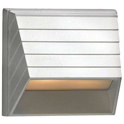 Hinley Matte White 12 Volt LED Deck Light