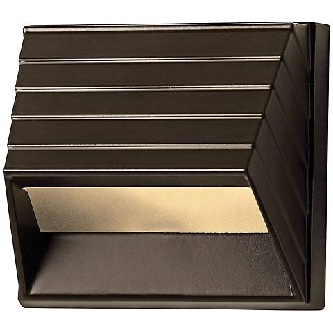 Hinkley Bronze Square Outdoor LED Deck Light