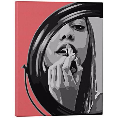 """Robert Abbey Blot 14"""" High Pop Wall Art"""