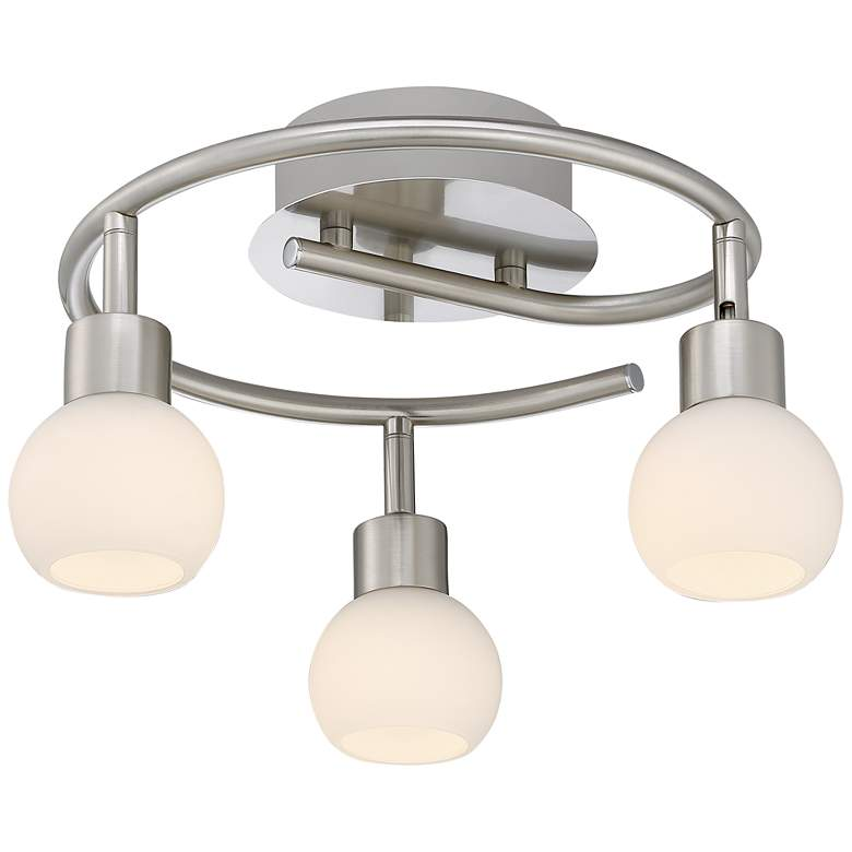 Pro Track® Satin Nickel 3-Light LED Ceiling Fixture