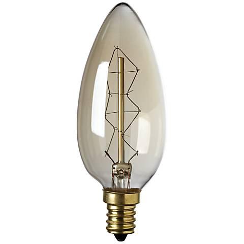 60 Watt Edison Style Candelabra Base Light Bulb - #3F799 | Lamps Plus