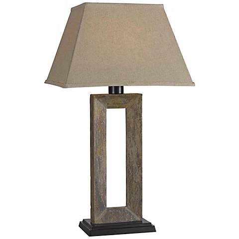 Kenroy Home Egress Collection Outdoor Table Lamp
