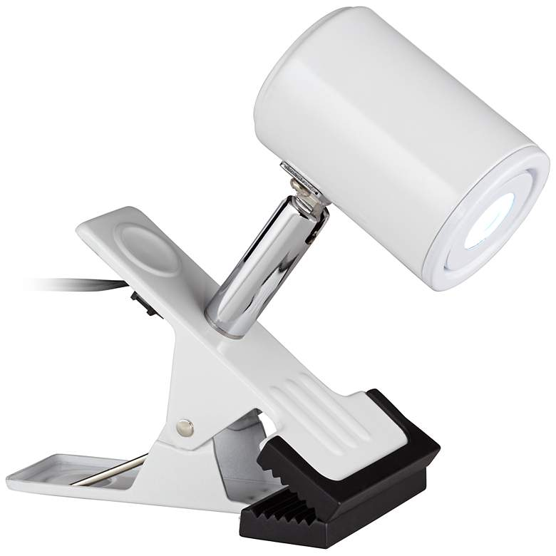 LED Mini Clip On Light in White