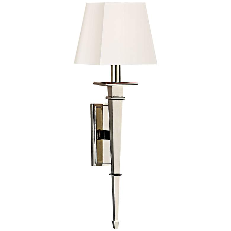 """Hudson Valley Stanford 23 1/4"""" High Nickel Wall Sconce"""