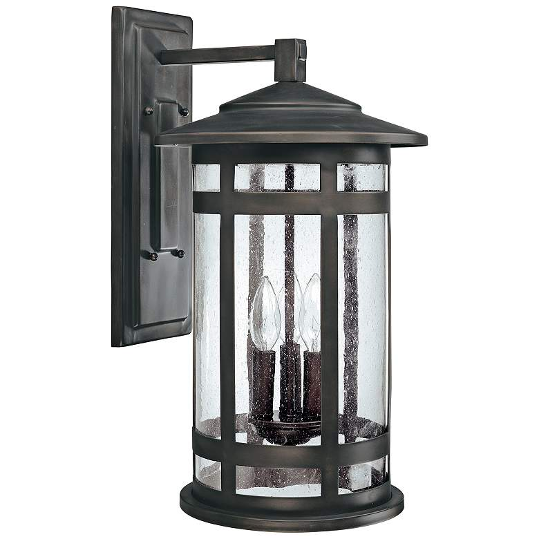 """Capital Mission Hills 20 1/4""""H Bronze Outdoor Wall Light"""