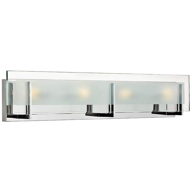 "Hinkley Latitude 26"" Wide Chrome Bath Light"