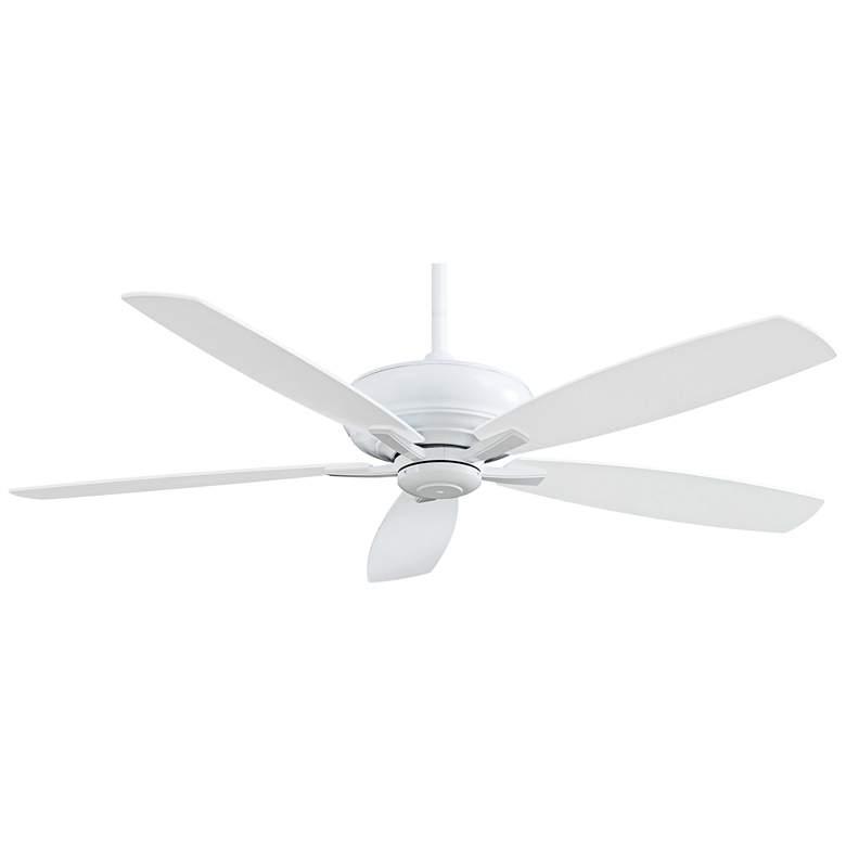"""60"""" Minka Aire Kola XL White Ceiling Fan"""