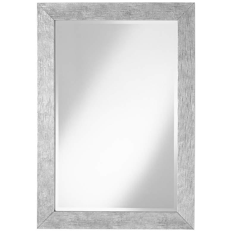"""Uttermost Tarek Silver 30"""" x 42"""" Decorative Wall Mirror"""