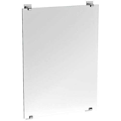 "Gatco Elevate Frameless Chrome 22"" x 32"" Vanity Mirror"