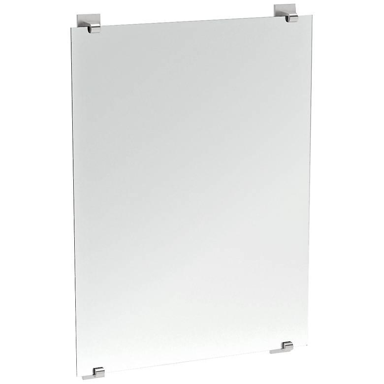 "Gatco Elevate Satin Nickel 22"" x 32"" Wall Mirror"