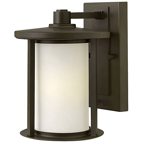 "Hinkley Hudson 9 3/4"" High Bronze Outdoor Wall Light"