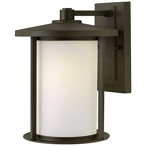 """Hinkley Hudson 12"""" High Bronze Outdoor Wall Light"""
