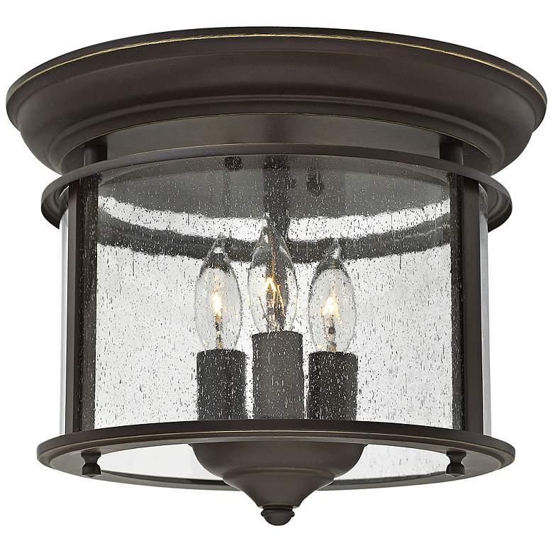 "Hinkley Gentry 11 1/2"" Wide Olde Bronze Ceiling Light"