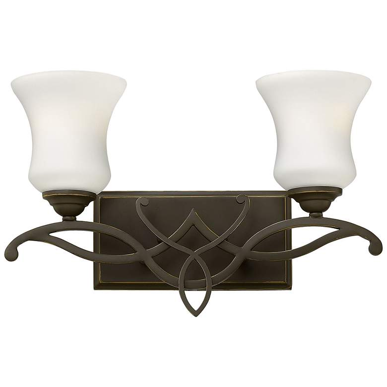 "Hinkley Brooke 16 1/2"" Wide Olde Bronze 2-Light"