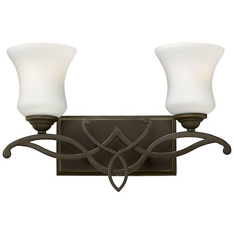 "Hinkley Brooke 16 1/2"" Wide Olde Bronze 2-Light Bath Light"