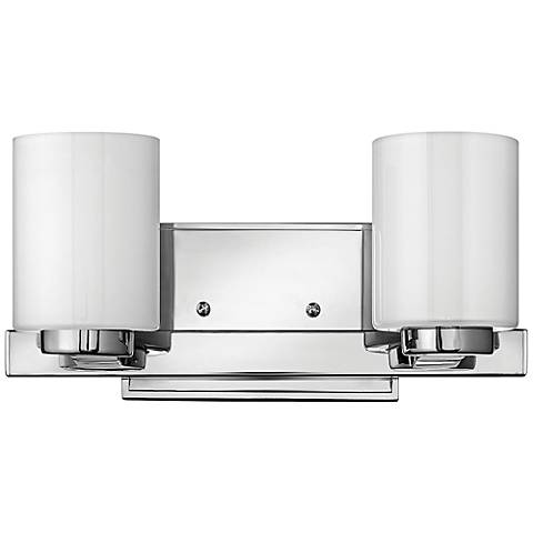 "Hinkley Miley 13"" Wide Chrome 2-Light Bath Light"