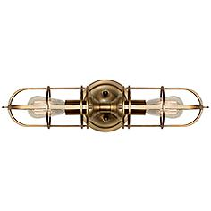 "Feiss Urban Renewal 20 1/4""H Dark Antique Brass Wall Sconce"
