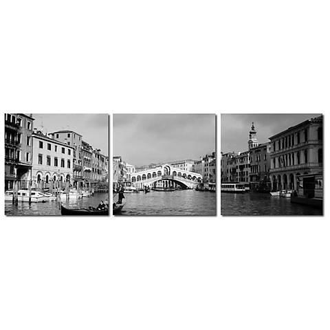 Rialto Bridge Print Triptych Wall Art