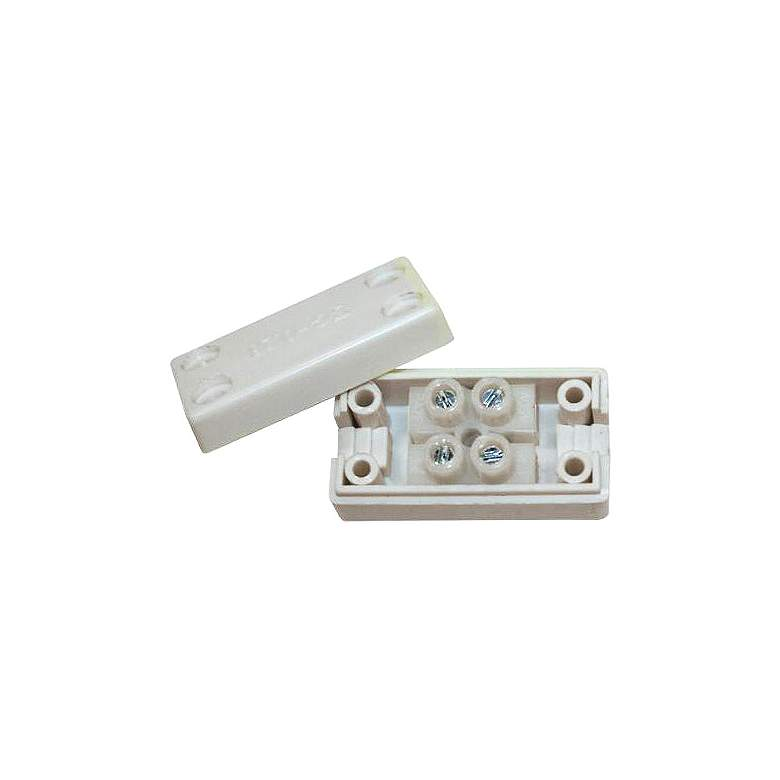 """WAC InvisiLED Pro 3 1.5"""" Wide White Low Voltage Wiring Box"""